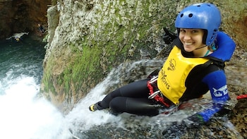 Full-Day Whitewater Rafting & Canyoning Combo Experience