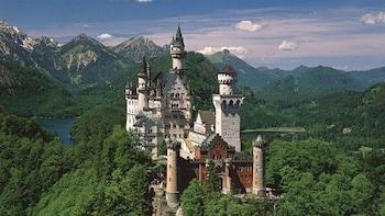 Kungliga slott, snabb tillgång − Neuschwanstein och Linderhof