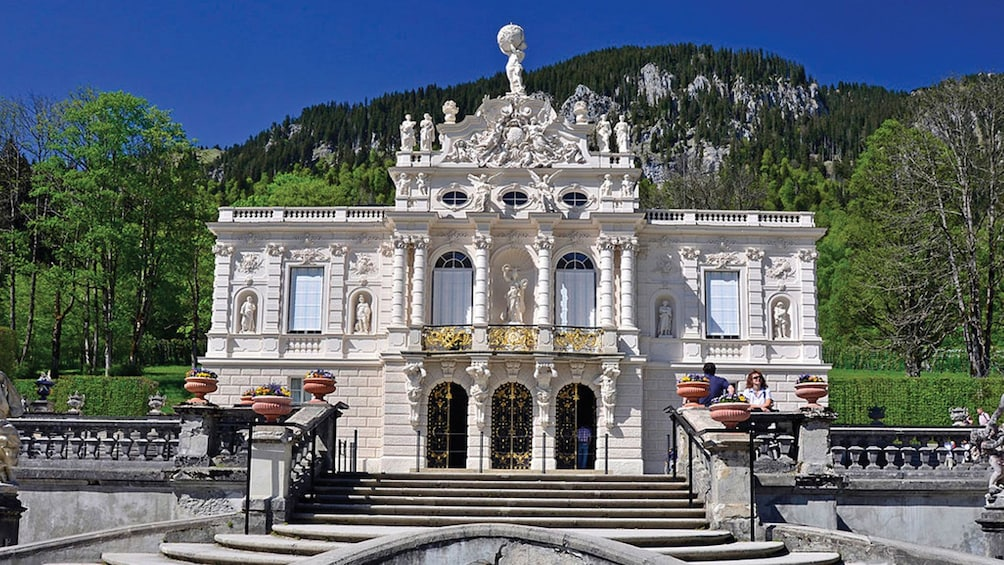 Show item 3 of 10. Linderhof Palace in Germany