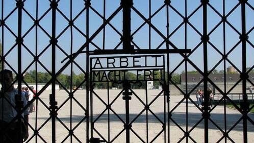 Gate of Dachau Memorial