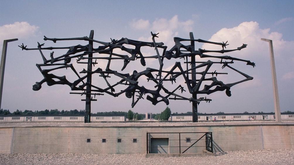 Nazi concentration camp of Dachau Memorial