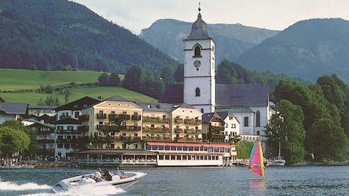 Salzkammergut Lake District in Germany