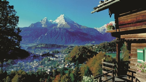 View from Eagle's Nest in Berchtesgaden, Germany