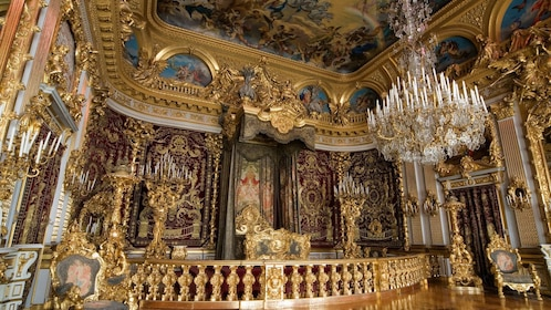 Interior of Royal Castle of Herrenchiemsee