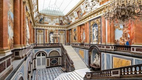 Interior ballroom of Royal Castle of Herrenchiemsee