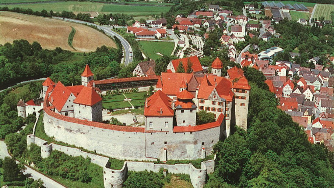 Harburg Castle in Germany