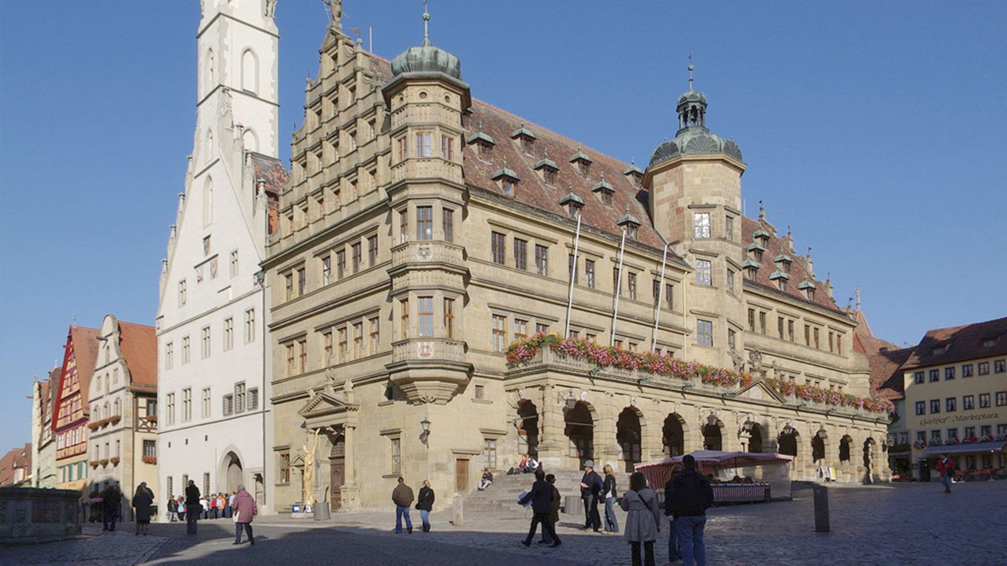 Rothenburg city hall building