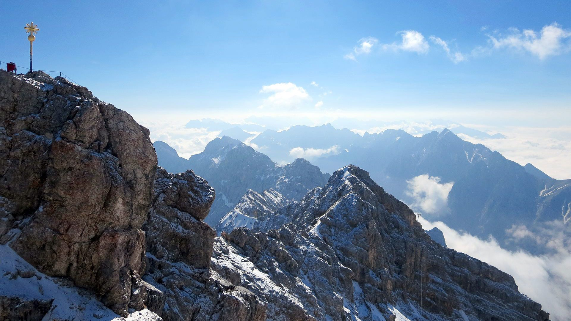 Summit of the Alps
