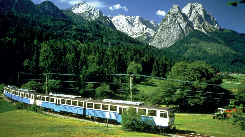 Show item 1 of 5. Train tour through Zugspitze, Germany