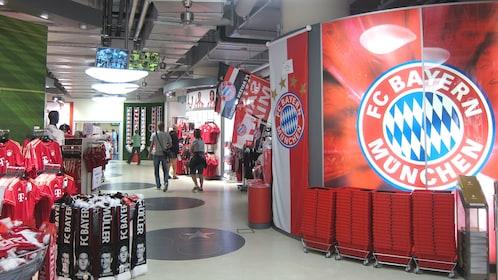 FC Bayern gift shop