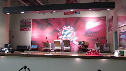 FC Bayern ticketing booth