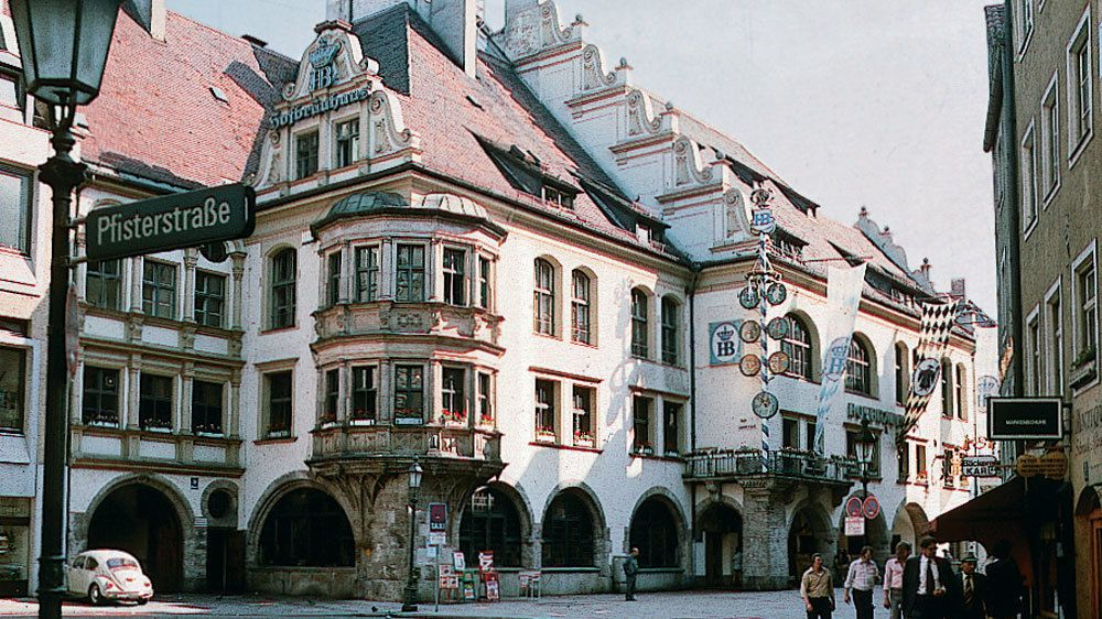 Historic brewery in Munich