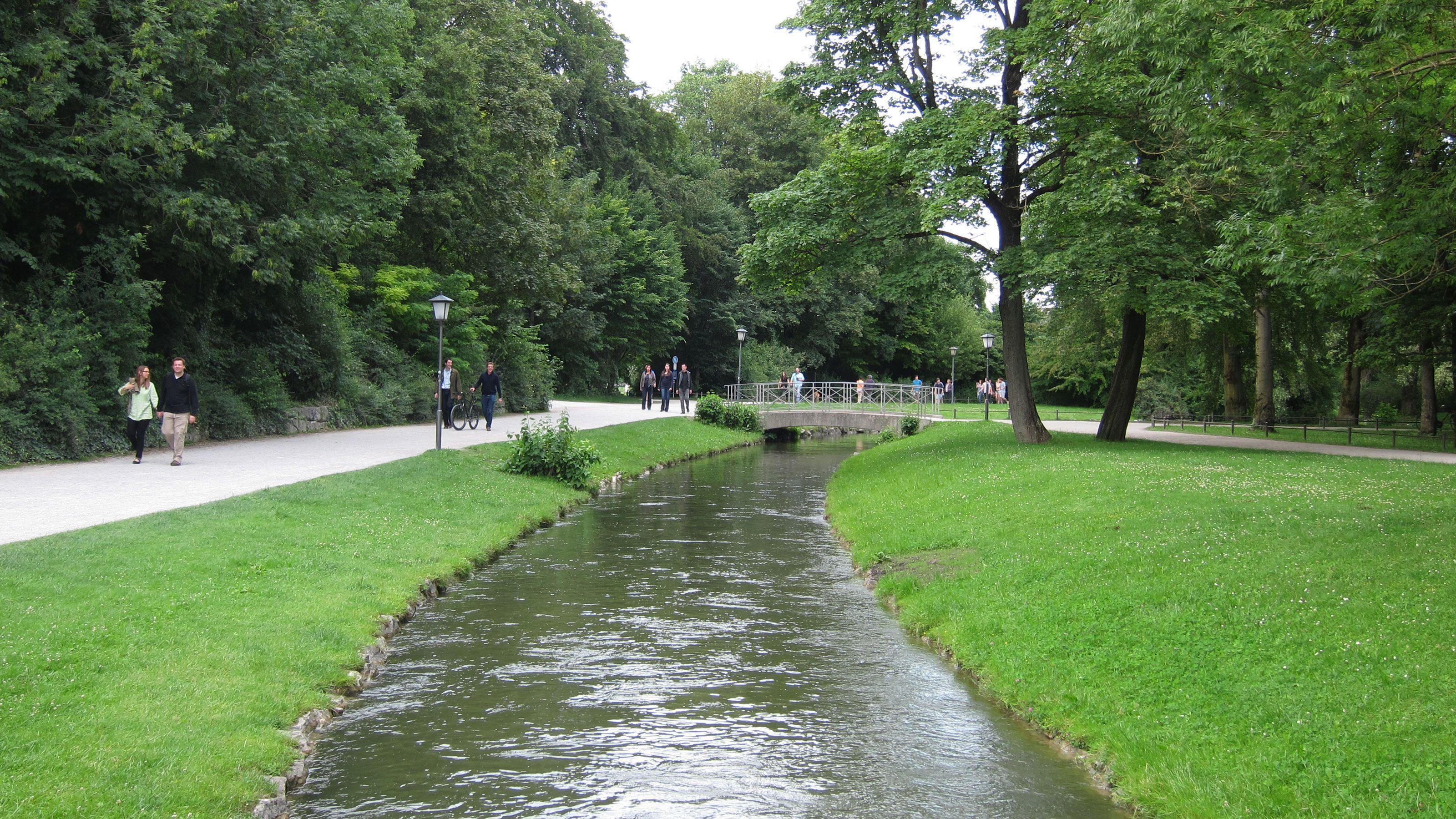River in Munich