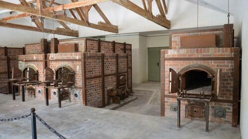 Crematory in Dachau Memorial