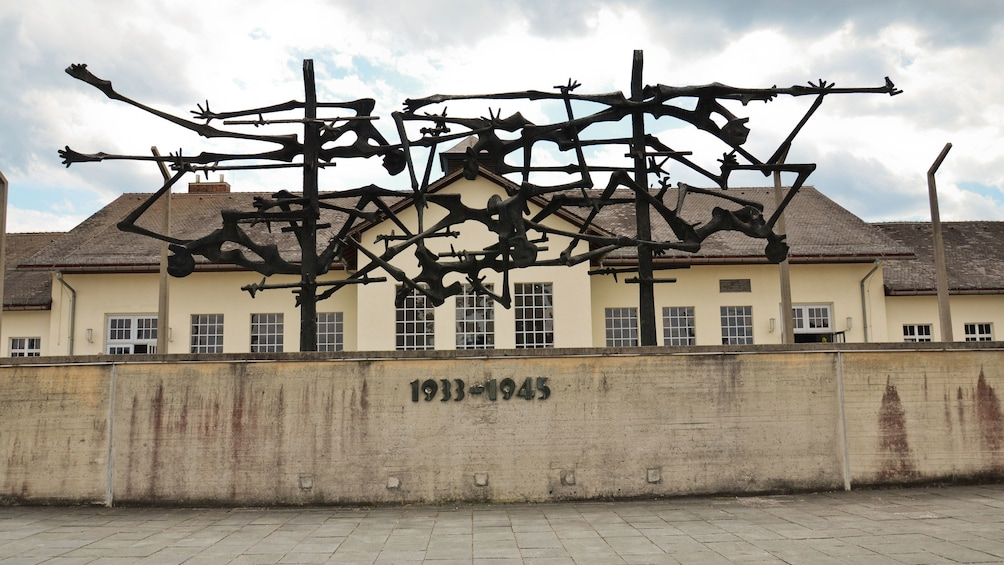 Show item 1 of 5. Nazi concentration camp in Dachau Memorial