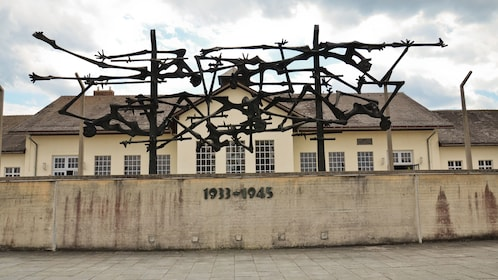 Nazi concentration camp in Dachau Memorial