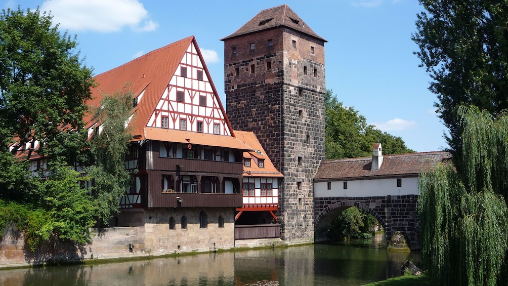 Show item 2 of 8. Historic mill in Nuremburg, Germany