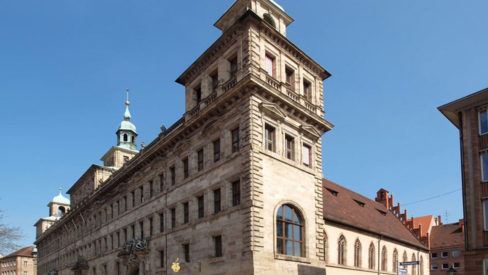 Show item 8 of 8. Historic market place in Nuremberg