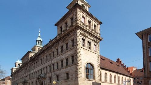 Historic market place in Nuremberg
