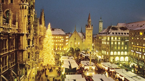 Munich during Christmas