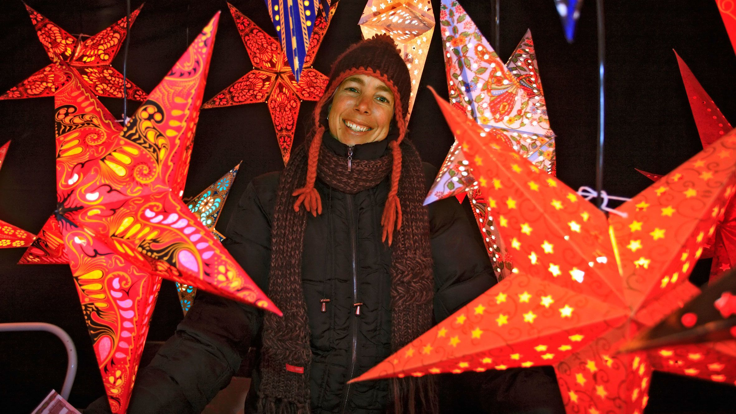 Starry night in Munich