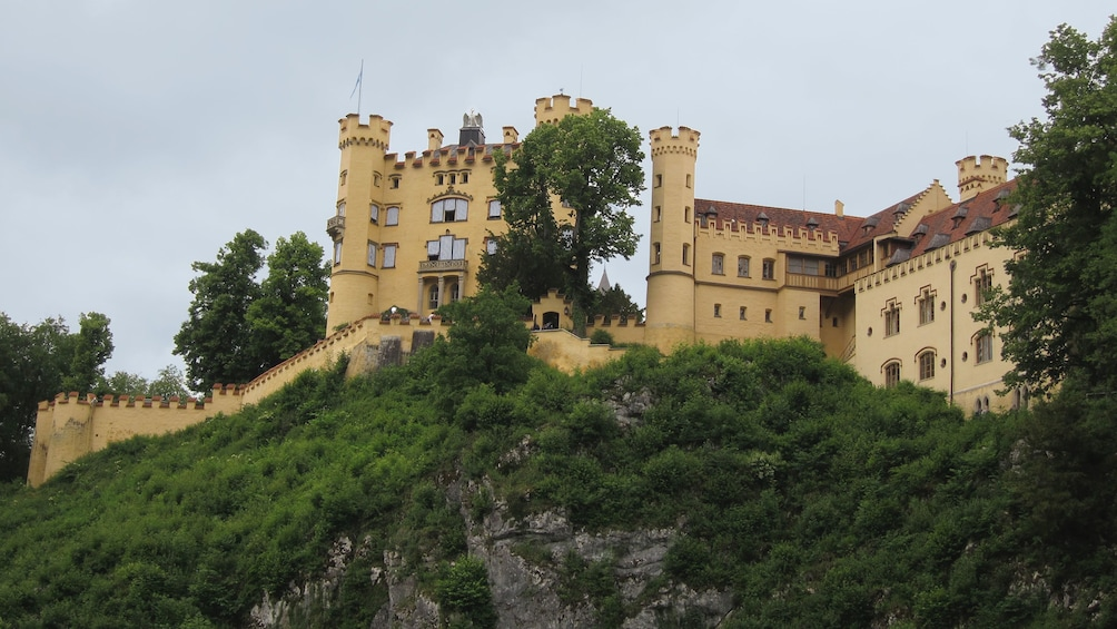 Show item 3 of 8. Castle walls of Neuschwanstein