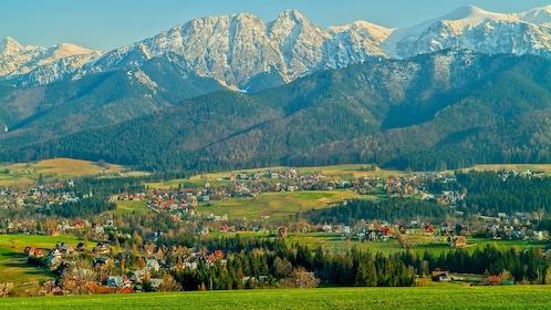 Stunning view of Zakopane