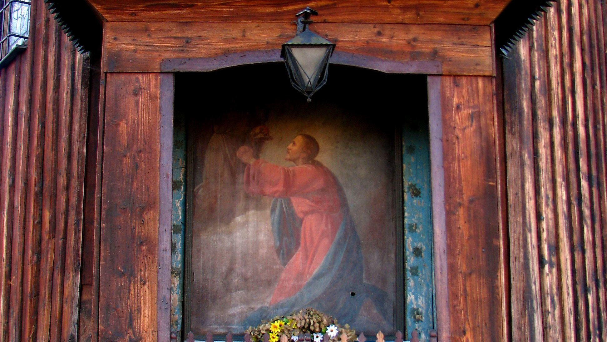 Portrait found at the Malopolska Region Wooden Architecture Tour in Poland