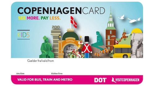 The activity Copenhagen Card child