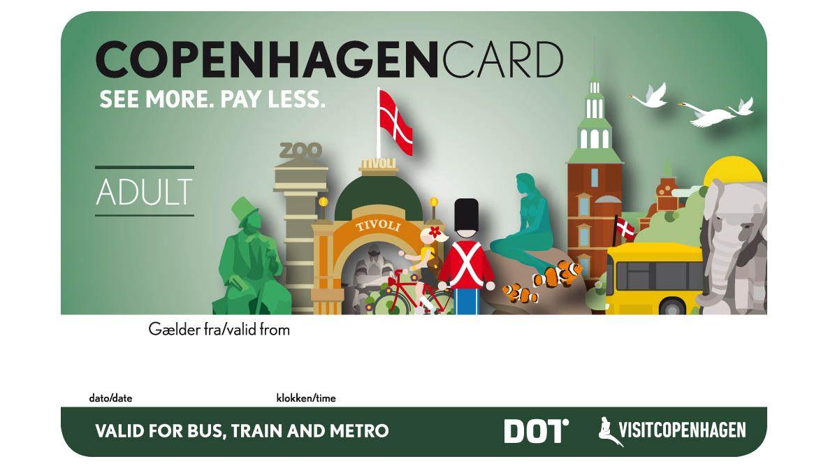Copenhagen Card: fler än 70 sevärdheter på ett kort