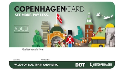 The activity Copenhagen Card adult