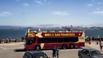 Hop-on-Hop-off-Rundfahrt im Big Bus durch San Francisco