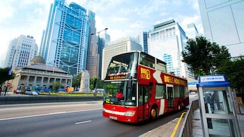 Hong Kong Hop-On Hop-Off Big Bus Tour with Peak Tram