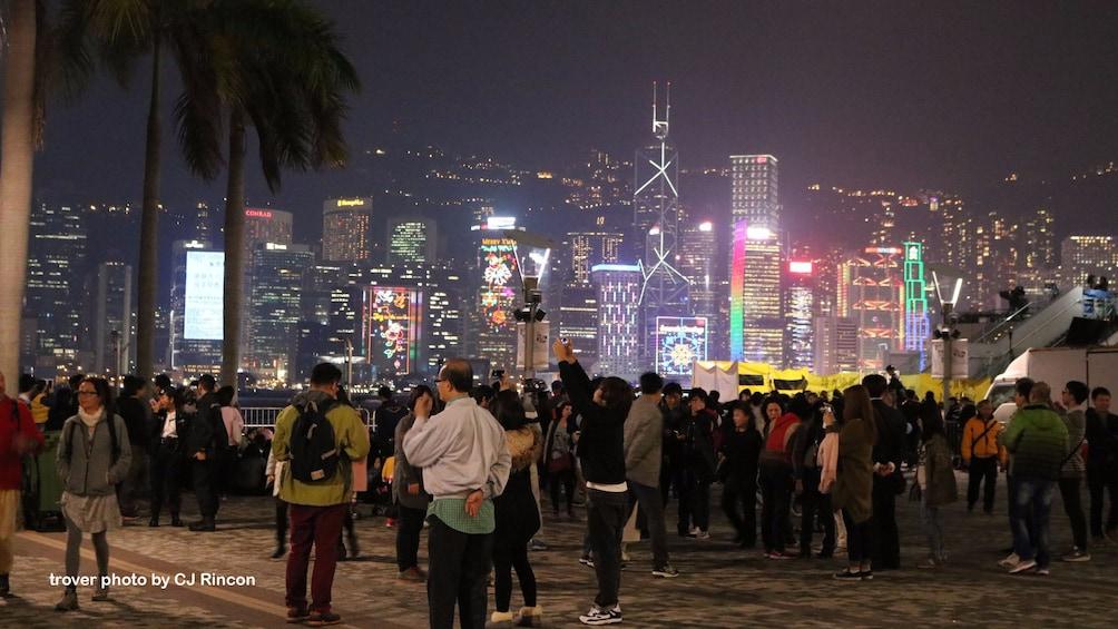 Show item 5 of 10. Hong Kong Big Bus Panoramic Night Tour