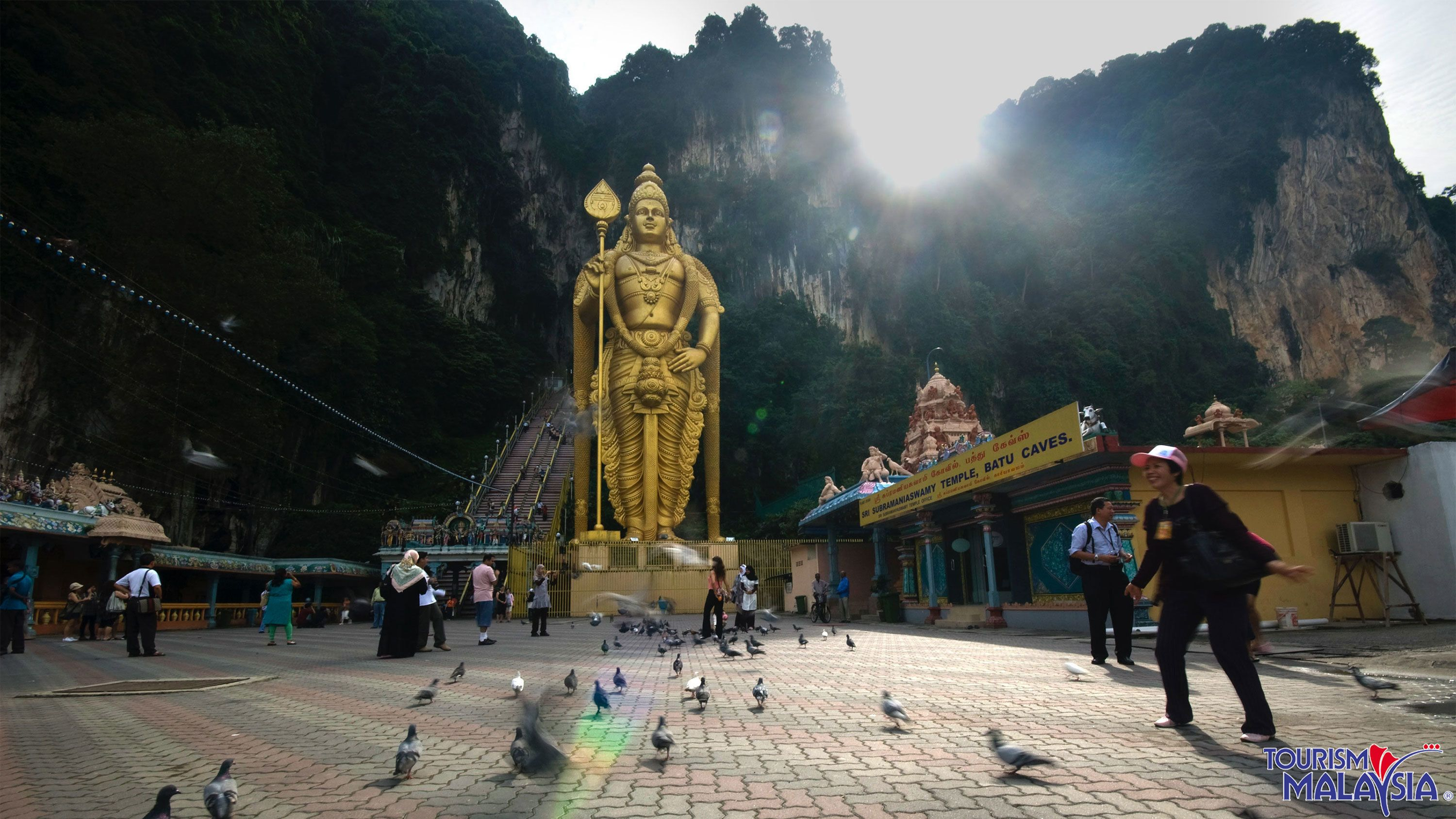 Country, Batu Caves & Handicrafts Half-Day Tour