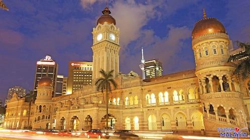 night city view in Kuala Lumpur