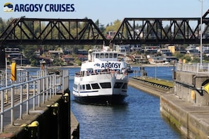 Ballard Locks-cruise - boot en bus (retourvervoer)