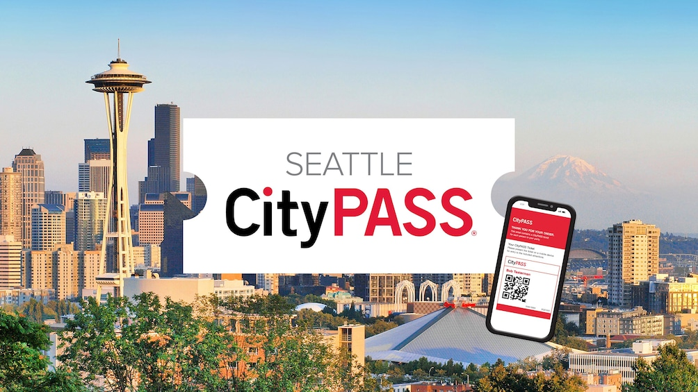 Show item 1 of 10. Seattle CityPASS: Admission to Top 5 Seattle Attractions