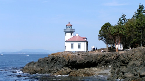 Lighthouse on a bluff