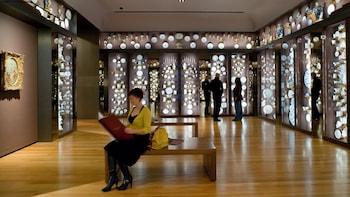 Show item 3 of 5. Exhibit room in Seattle Art Museum