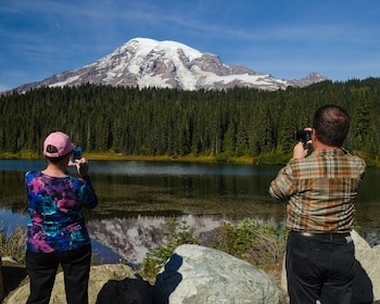 Mt. Rainier Lake with guests.jpg