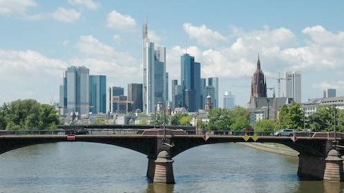 city view in Frankfurt