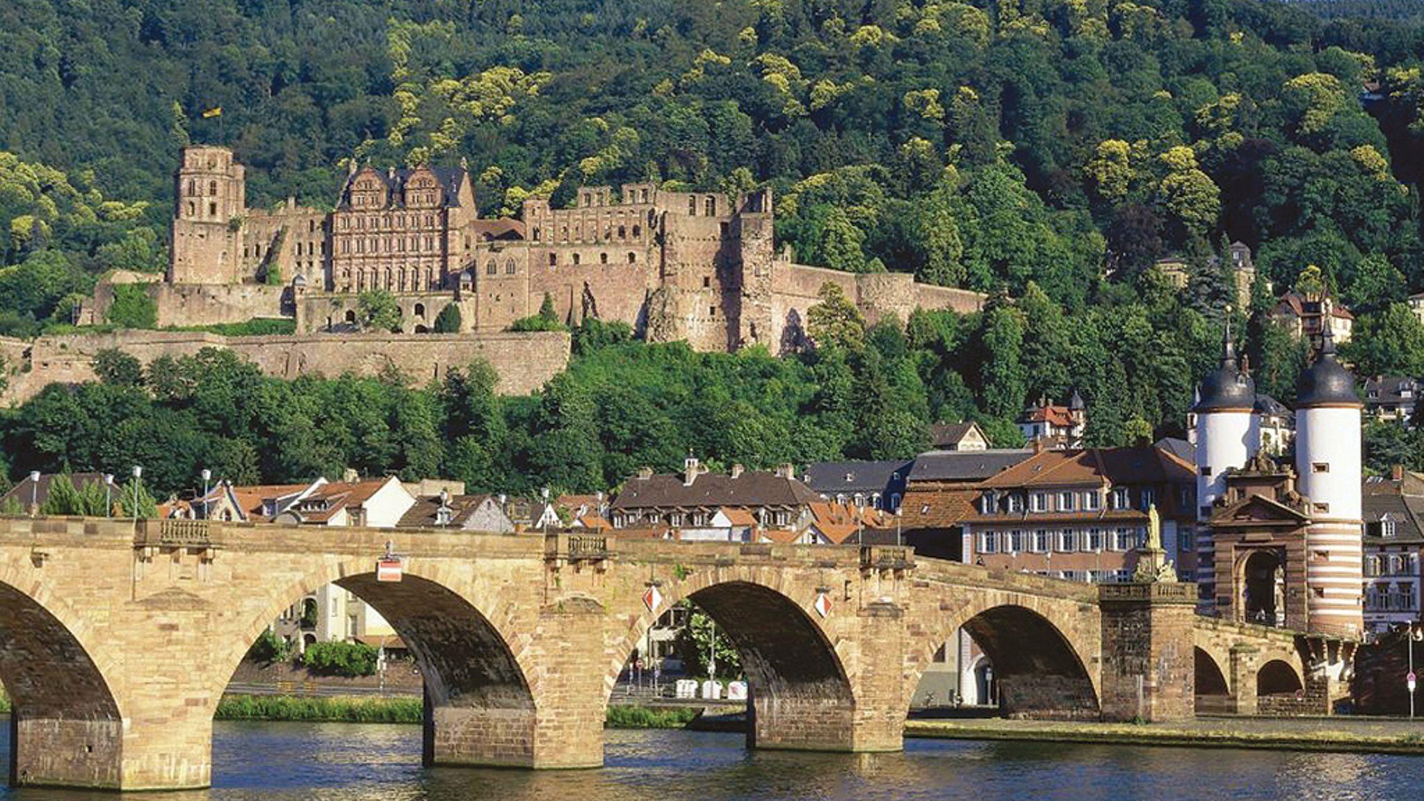 Heidelberg Tour incl. Castle entrance & Wine barrel