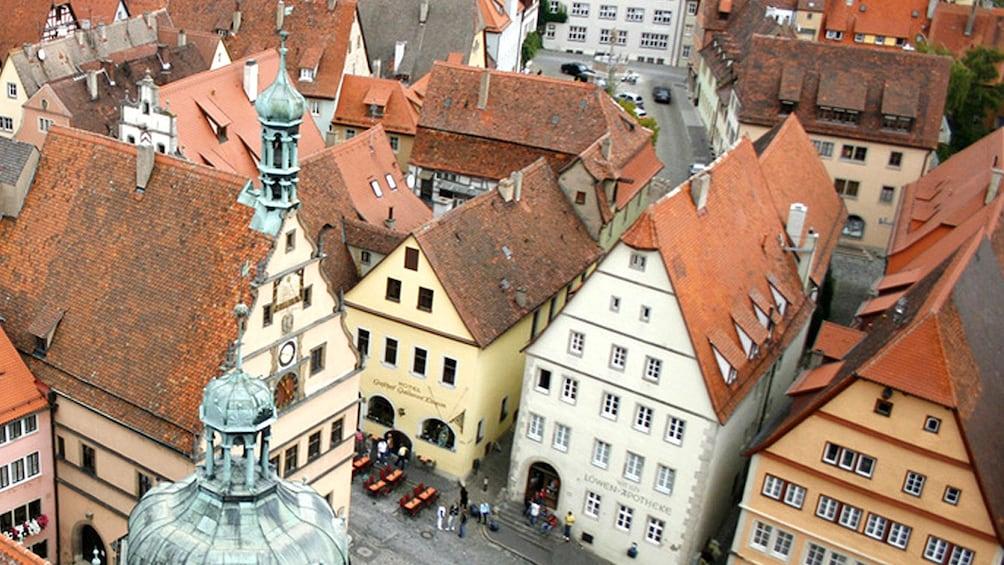 city street in Frankfurt