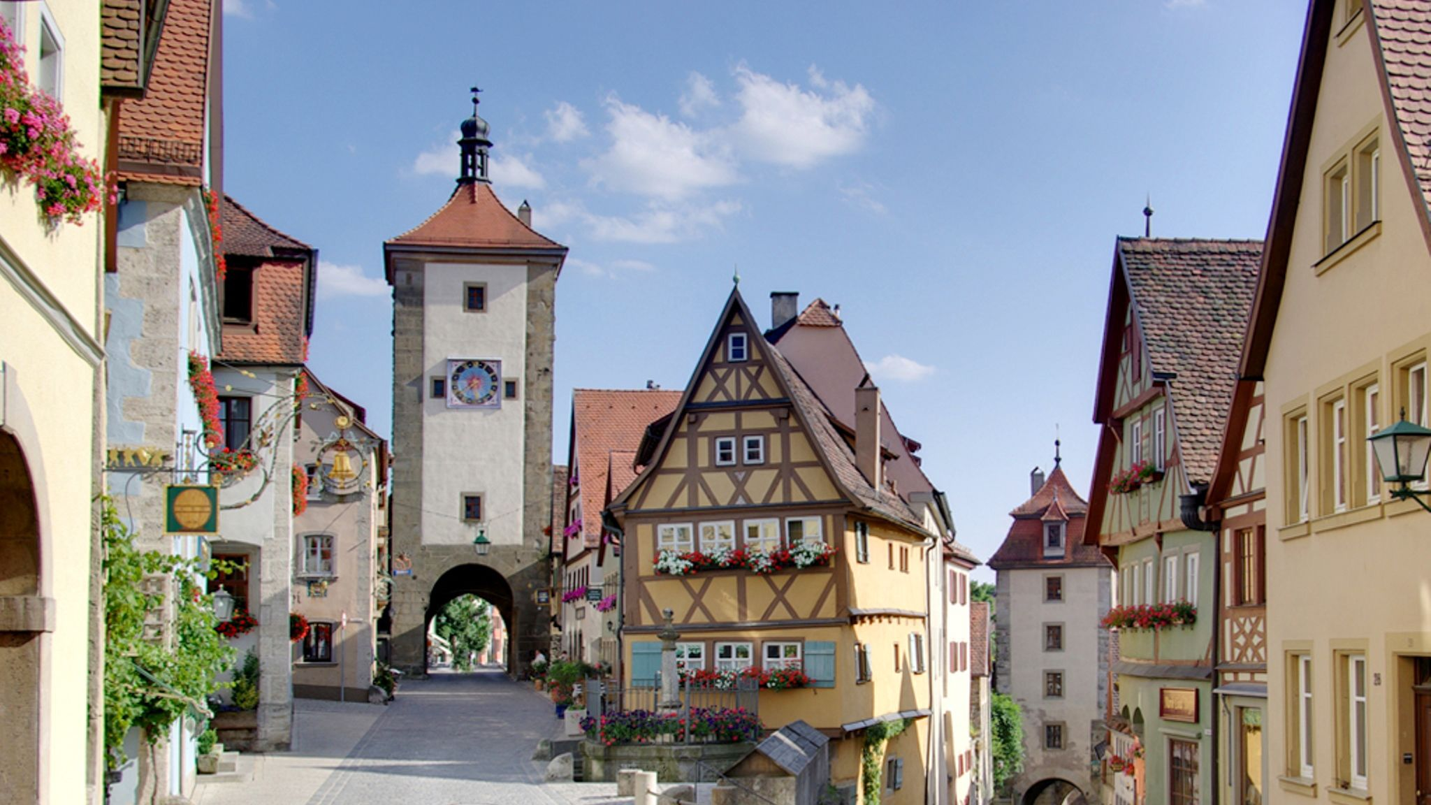 Excursion d'une journée à Rothenburg le long de la Route romantique