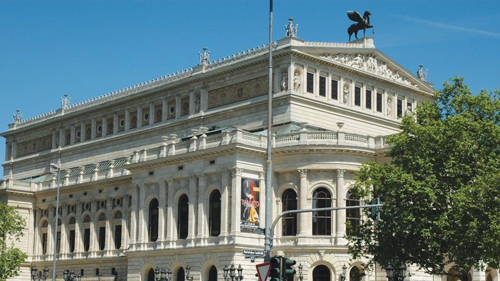 building in Frankfurt