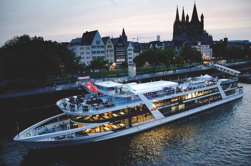 Show item 3 of 7. Cologne Dinner Cruise with All-You-Can-Eat Buffet & Drinks