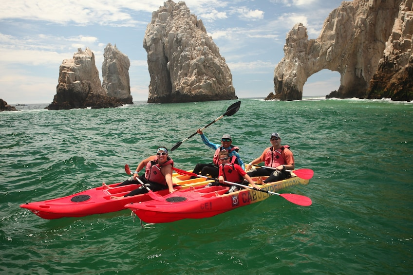 Show item 10 of 10. Los Cabos Guided Kayak & Snorkel Tour