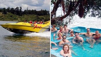 Katoa Jet & Geothermal Manupirua Hot Springs Tour