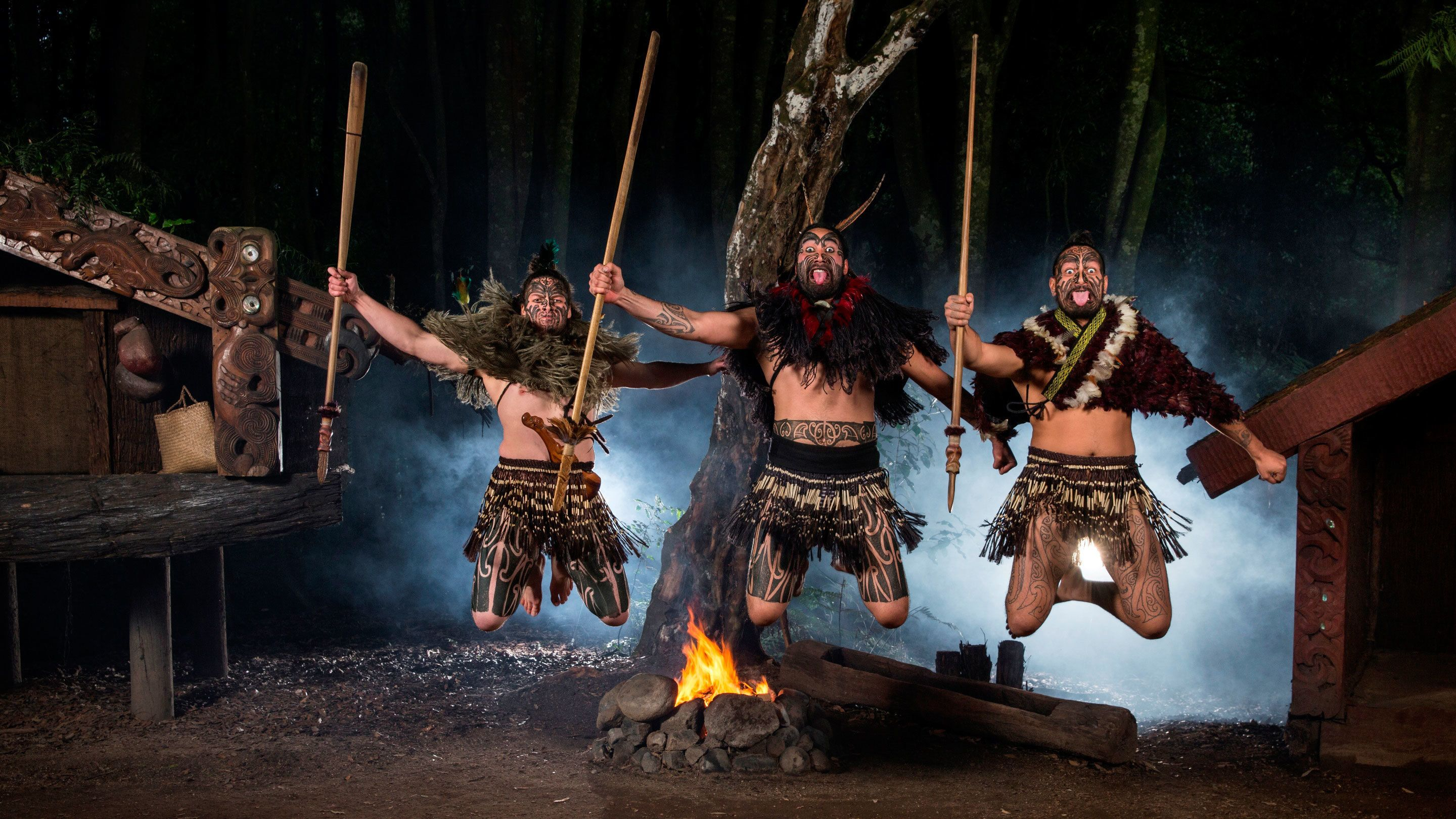 tribal dance in New Zealand